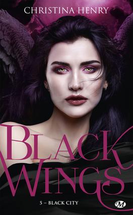 Couverture du livre : Black Wings, Tome 5 : Black City