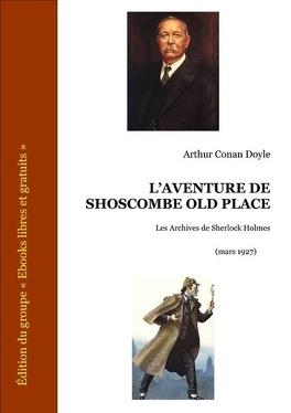 Couverture du livre : L'Aventure de Shoscombe Old Place