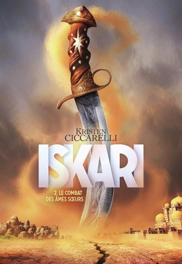 Couverture du livre : La Légende d'Iskari, Tome 2 : The Caged Queen