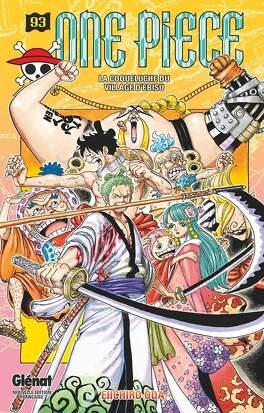 Couverture du livre : One Piece, Tome 93 : La Coqueluche du village d'Ebisu