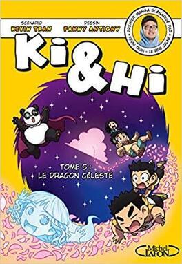 Couverture du livre : Ki & Hi, Tome 5 : Le Dragon céleste