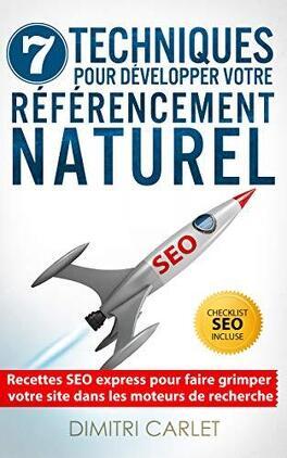 Couverture du livre : SEO - 7 techniques pour développer votre référencement naturel