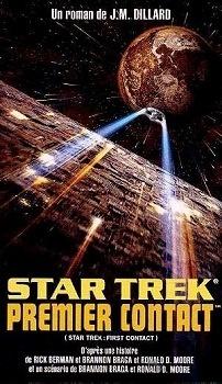 Couverture du livre : Star Trek, les films, volume 6 : Star Trek, Premier contact