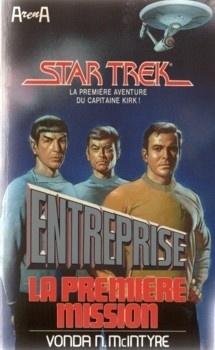 Couverture du livre : Star Trek, tome 18 : Entreprise, la première mission