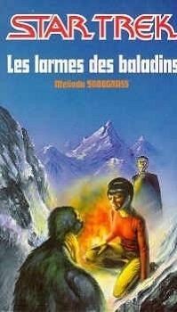 Couverture du livre : Star Trek, tome 9 : Les Larmes des baladins