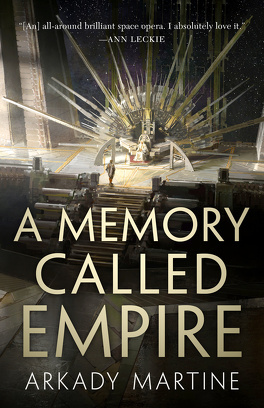 Couverture du livre : Teixcalaan, Tome 1 : A Memory Called Empire