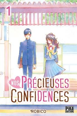 Couverture du livre : Nos précieuses confidences, Tome 1