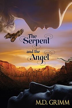 Couverture de La Saga des métamorphes, Tome 8 : The Serpent and the Angel