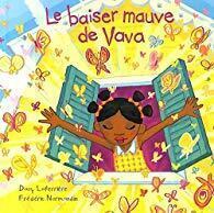 Couverture du livre : Le baiser mauve de Vava