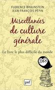 miscellanées de culture générale le livre le plus difficile du monde
