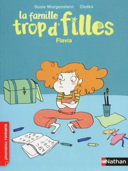 Couverture du livre : La Famille trop d'filles : Flavia