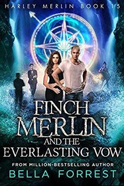 Couverture de Harley Merlin, Tome 15 : Finch Merlin and the Everlasting Vow