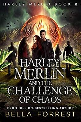 Couverture du livre : Harley Merlin, Tome 8 : Harley Merlin and the Challenge of Chaos