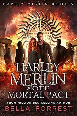 Couverture du livre : Harley Merlin, Tome 9 : Harley Merlin and the Mortal Pact