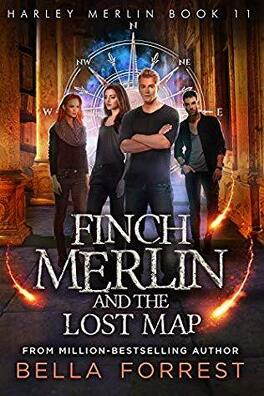 Couverture du livre : Harley Merlin, Tome 11 : Finch Merlin and the Lost Map