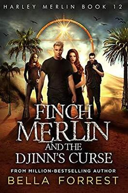 Couverture du livre : Harley Merlin, Tome 12 : Finch Merlin and the Djinn's Curse