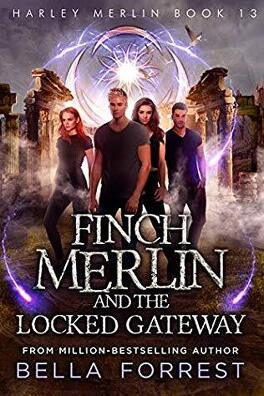 Couverture du livre : Harley Merlin, Tome 13 : Finch Merlin and the Locked Gateway
