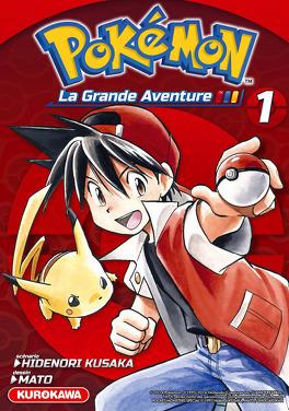 Couverture du livre : Pokémon : La Grande Aventure, Intégrale 1