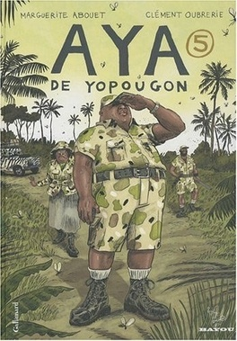 Couverture du livre : Aya de Yopougon, tome 5