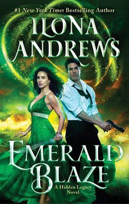 Couverture du livre : Hidden Legacy, Tome 5 : Emerald Blaze