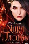couverture Nora Jacobs, Tome 3 : Déchirée