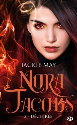 Couverture de Nora Jacobs, Tome 3 : Déchirée