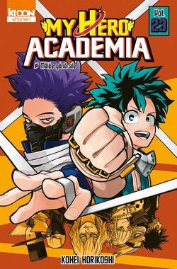 Couverture de My Hero Academia, Tome 23 : Mêlée générale