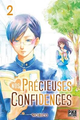 Couverture du livre : Nos précieuses confidences, Tome 2
