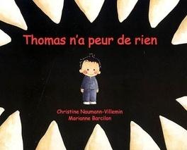 Couverture du livre : Thomas n'a peur de rien