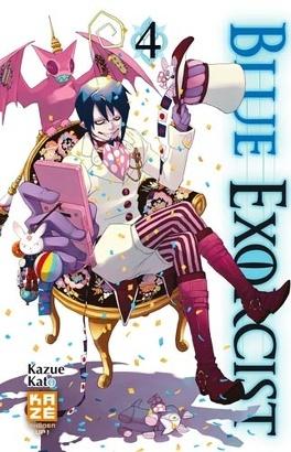 Couverture du livre : Blue exorcist, Tome 4