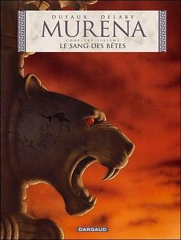 Couverture du livre : Murena, Tome 6 : Le Sang des bêtes