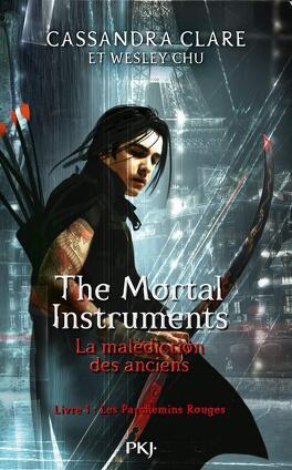 Couverture du livre : The Mortal Instruments : La Malédiction des anciens, Tome 1 : Les Parchemins rouges