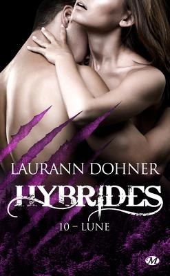 Couverture de Hybrides, Tome 10 : Lune
