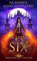 Origins of the Six, tome 1, Academy of Six
