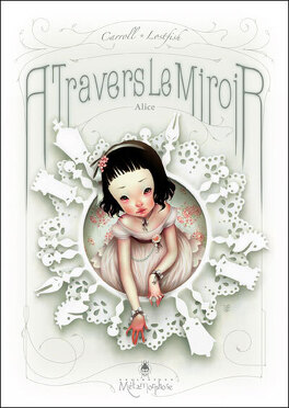 Couverture du livre : Alice à travers le miroir