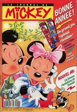 Couverture du livre : Le Journal de Mickey N°1958