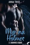 couverture Myrina Holmes, Tome 2 : Cadavres exquis