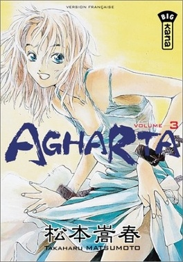 Couverture du livre : Agharta, tome 3