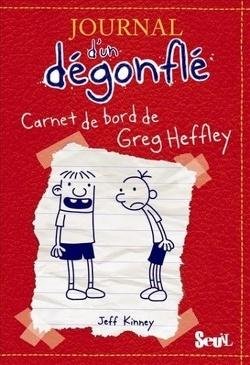 Couverture de Journal d'un dégonflé, tome 1: Carnet de bord de Greg Heffley
