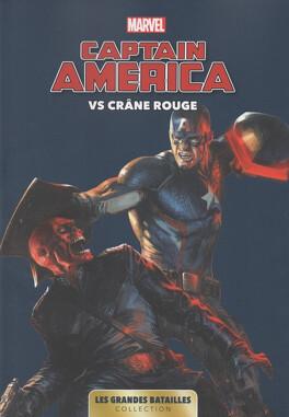 Couverture du livre : Marvel - Les Grandes Batailles, Tome 9 : Captain America VS Crâne Rouge