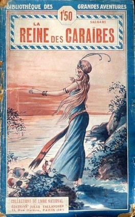 Couverture du livre : La Reine des Caraïbes