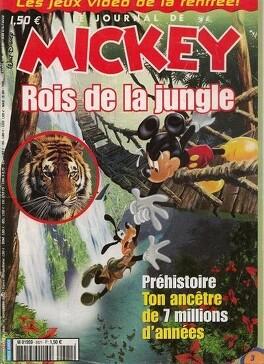Couverture du livre : Le Journal de Mickey N°2621