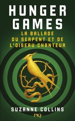 Couverture de Hunger Games : La Ballade du serpent et de l'oiseau chanteur