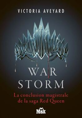 Couverture du livre : Red Queen, Tome 4 : War Storm