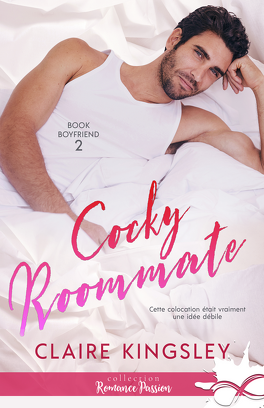 Couverture du livre : Book Boyfriend, Tome 2 : Cocky Roommate