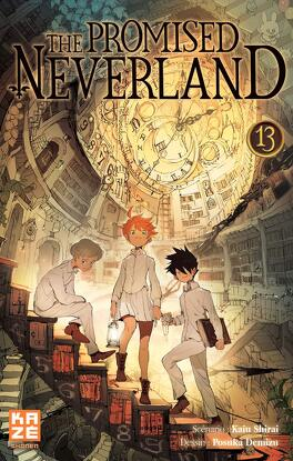 Couverture du livre : The Promised Neverland, Tome 13 : Le Roi du paradis