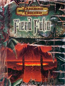 Couverture du livre : Dungeons & Dragons: Fiend Folio 3E ed