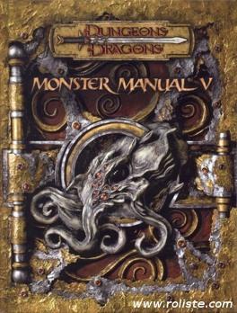 Couverture du livre : Dungeons & Dragons: Manuel Des Monstres V 3E ed
