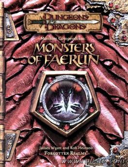 Couverture du livre : Dungeons & Dragons: Monsters of Faerûn 3E ed