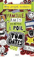 Tom Gates, Tome 12 : Mon projet scolaire Famille, Amis et Bêtes à poil